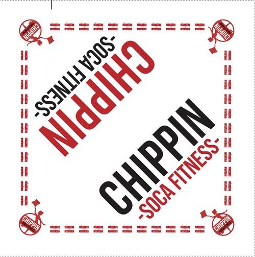 <バンダナ> CHIPPIN SOCA Bandana - White - 初回限定デザイン