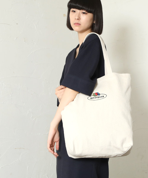 14364800【FRUIT OF THE LOOM/フルーツオブザルーム】BASIC TOTE BAG