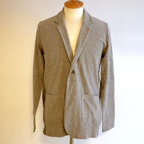Jacquard Pile Jacket Gray