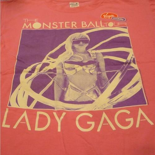 LADY GAGA THE MONSTER BALL TOUR Tシャツ ★【クリックポスト利用で送料無料】