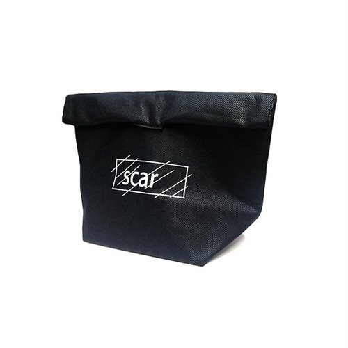 scar /////// ROLL 2WAY COOLER POUCH (Black)