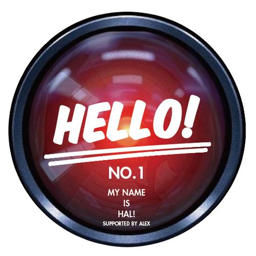 HAL  NO.1(HELLO!)Tee