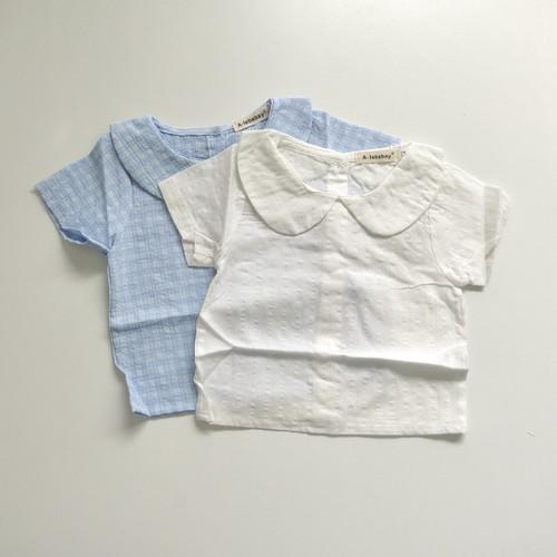 〔即納〕baby collar blouse