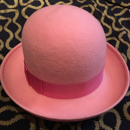 Worlds End Bowler Hat Pink