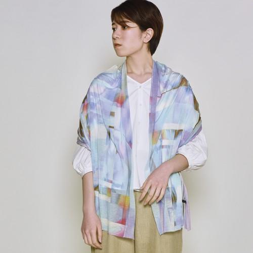 羽織れるストール - PARALLEL - 2color
