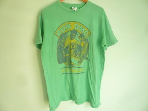 アメリカ製 JUNKFOOD ジャンクフード RUN DMC Tシャツ/オールドスクール ヒップホップ HIPHOP 80s 90s