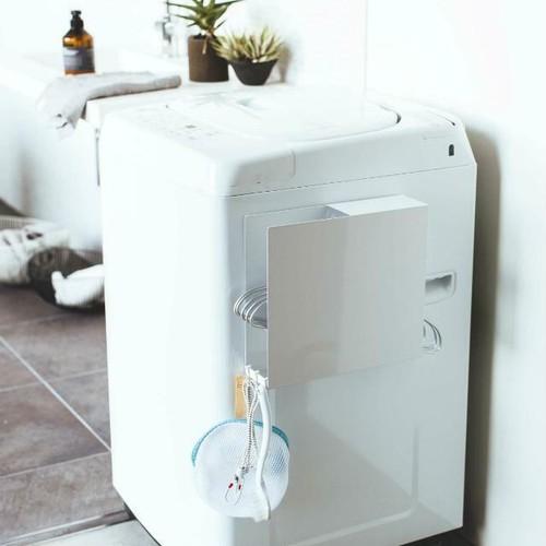 洗濯機横マグネットハンガーホルダー タワー YM-M18-036 tower 山崎実業 yamazaki