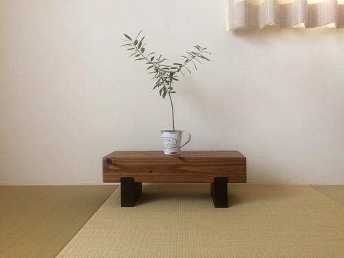 どっしり木製飾り台☆花台