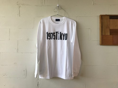Tower L/S Tee WHITE // 1975tokyo