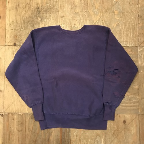 70s~ CHAMPION Reverse Weave purple 単色タグ 青タグ  RW046