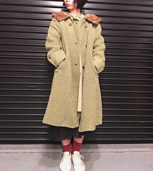 60's USA vintage coat