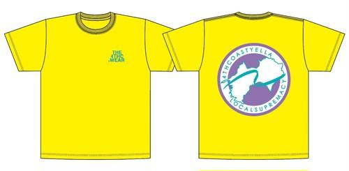 TRANS-4THCoast T-shirt (Gold Yellow)