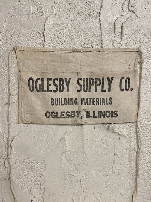 """WORK APRON """" OGLESBY SUPPLY CO. """""""