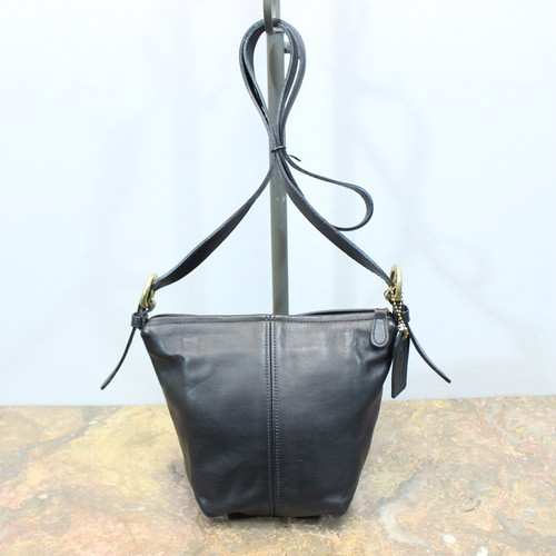 .OLD COACH LEATHER SHOULDER BAG MADE IN USA/オールドコーチレザーショルダーバッグ 2000000030074