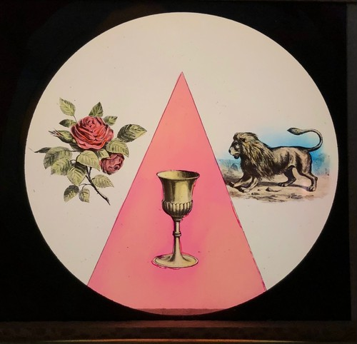 幻燈スライド 東方の星の結社「金の杯」
