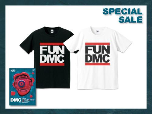 DMC JAPAN 2018 DVD + FUN DMC TEE