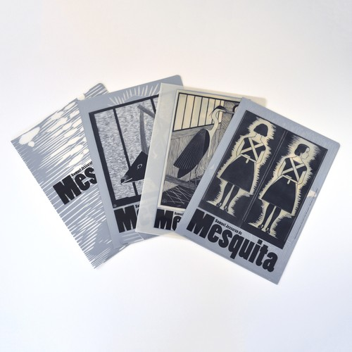 「メスキータ」展 クリアファイル4種セット B