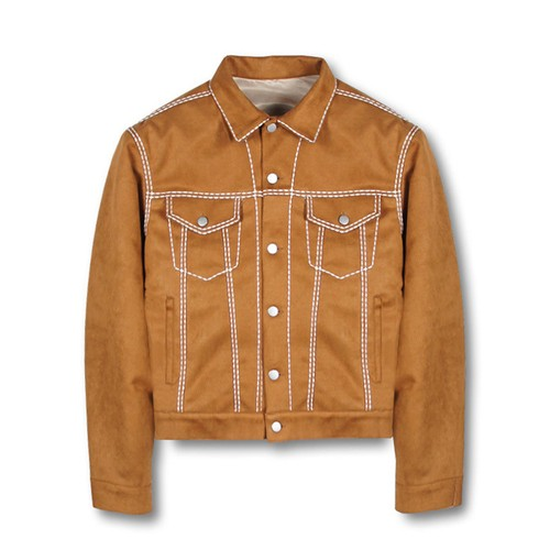 PATRIOT Easy Trucker Jacket BROWN
