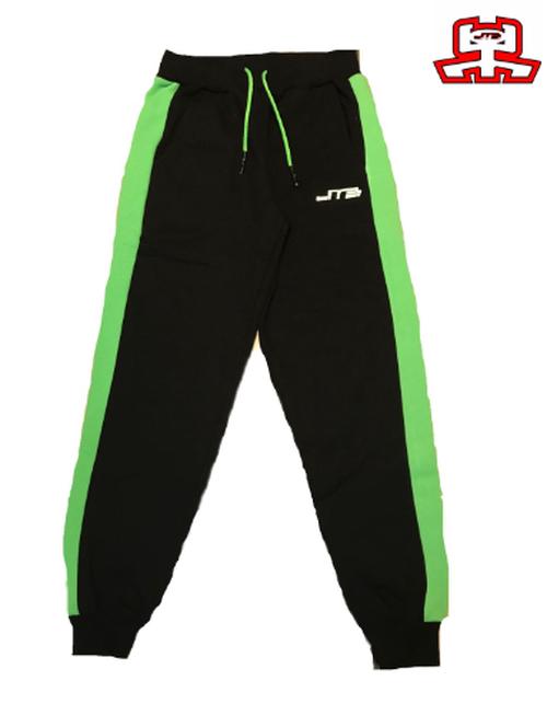 【JTB】B-LINE スタイルパンツ【ブラック×グリーン】【再入荷】イタリアンウェア【送料無料】《M&W》