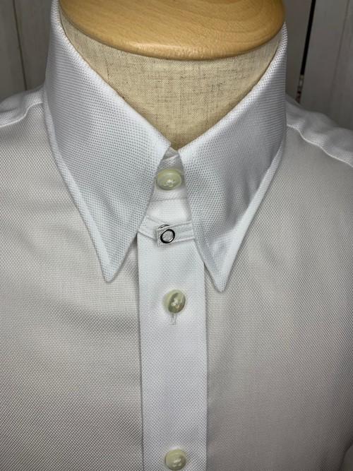 シャツ(単品)Mサイズ タブカラー
