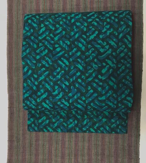 オリジナル名古屋帯(インド綿×インド綿)