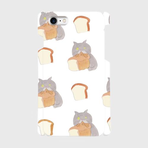食パンむしゃあ ( iPhoneプラ ケース)