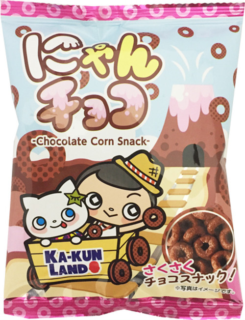 にゃんチョコ(チョコレートコーンスナック)名古屋限定品