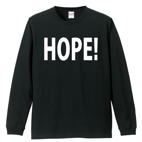 HOPE! LOGO【LONG SLEEVE】