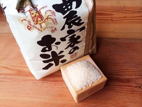 【新米】農薬不使用!平成30年度徳島県産ミルキークイーン*5kg