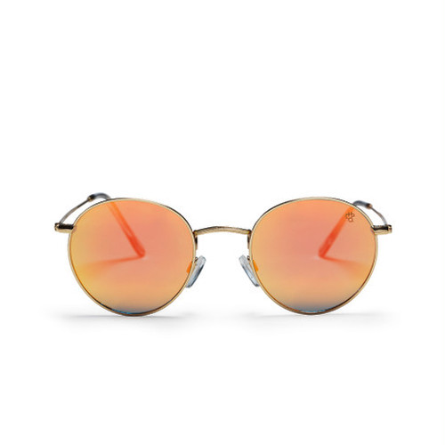 【CHPO】Liam (golden frame and a coral mirrored lense)