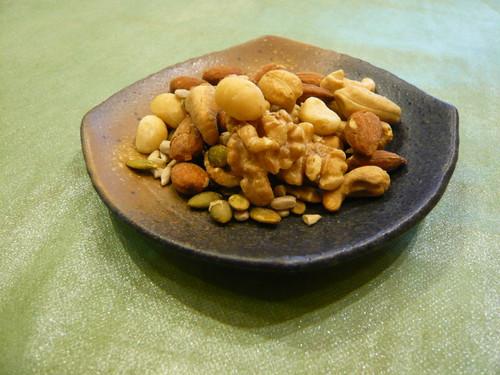ミックスナッツ  お塩      Mixed Nuts    Salty