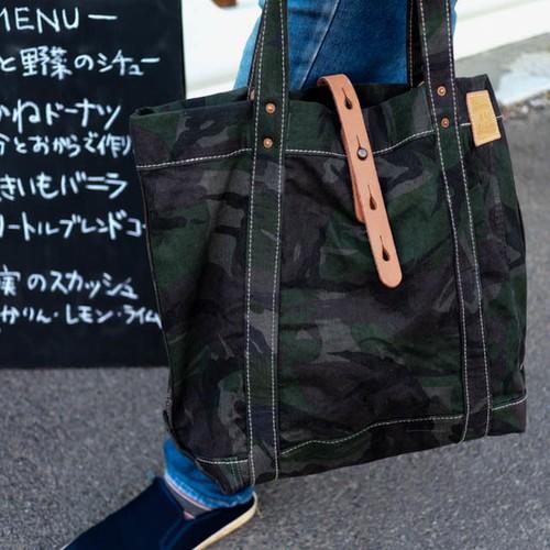 ミリタリートート/CAMO(迷彩)ダッフルバッグ【受注生産】