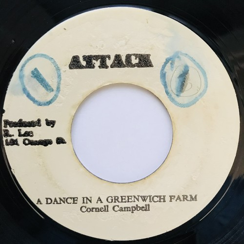 Cornell Campbell - A Dance In A Green Wich Farm【7-11036】