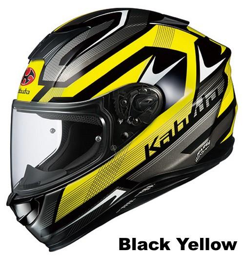 OGK AEROBLADE-5 RUSH Black Yellow