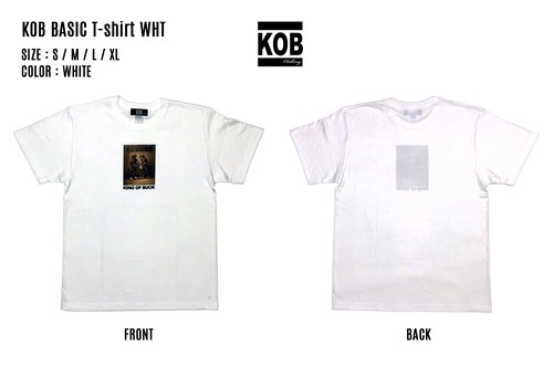 KOB BASIC T-shirt WHT
