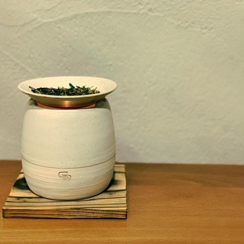 【再入荷】CHABAKKA刻印入り 常滑焼茶香炉