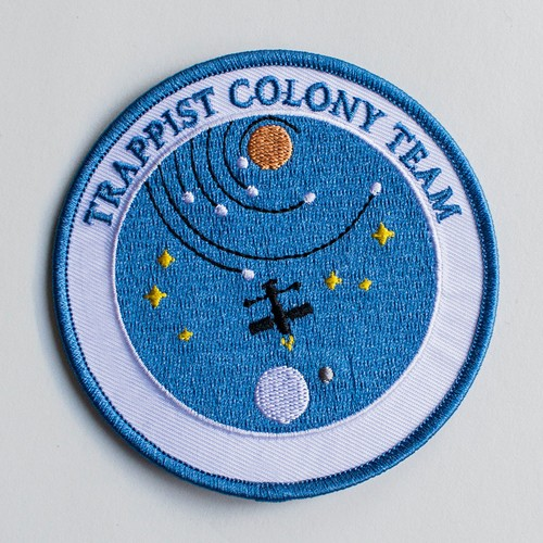 "MajorCrimesDivision""Trappist Colony Team Patch """