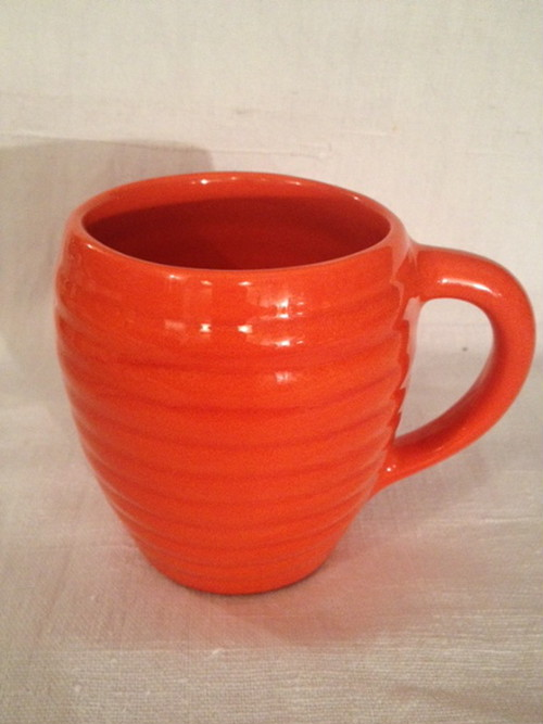 COFFEE MUG(BAUER POTTERY)   #ORANGE