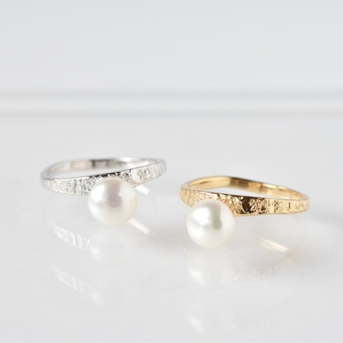 stardust×pearl ring