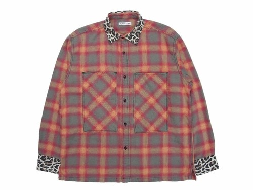 L/S NEL SHIRTS  RED