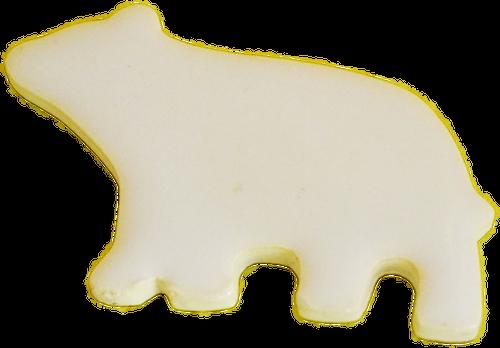 型抜き箸置(白くま)