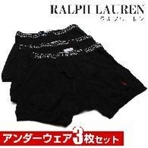 ラルフローレン RALPH LAUREN メンズインナーウエア LCBB BLACK ブラック サイズ(#L)