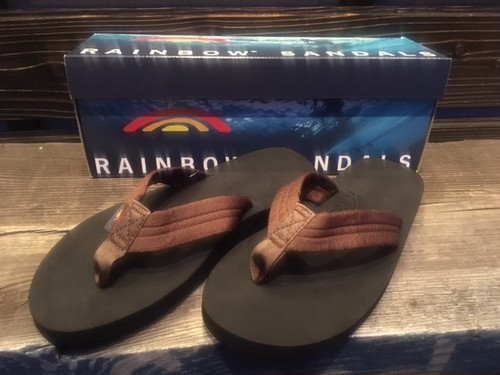 Rainbow Sandals  THE CLOUD  Brown/Black