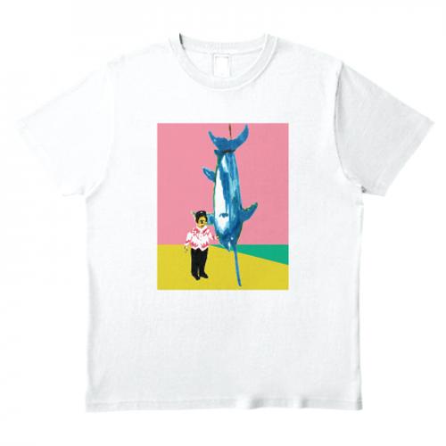 「カジキ釣り」Tシャツ
