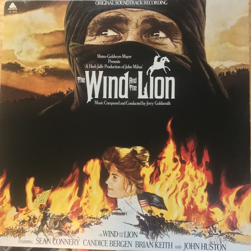 JERRY GOLDSMITH / THE WIND AND THE LION (1975)