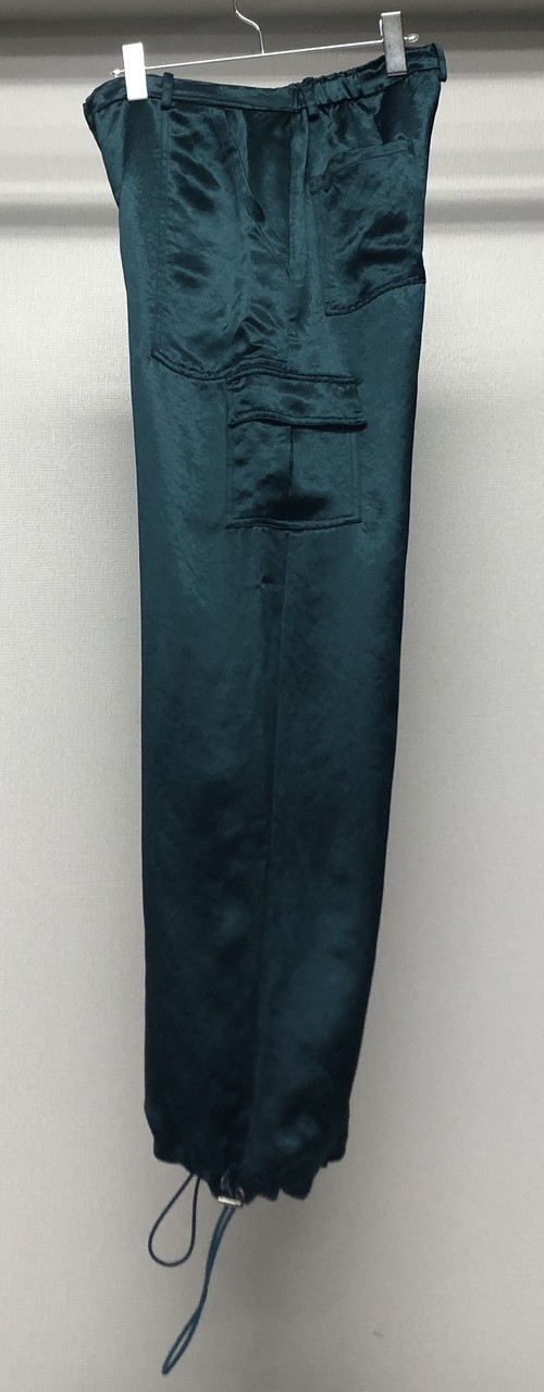 COLLINA STRADA HEAVY SATIN CARGO TROUSERS