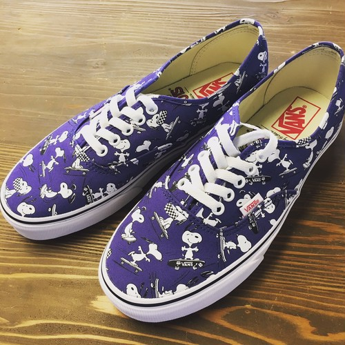 VANS×PEANUTS Authentic Snoopy/Skating