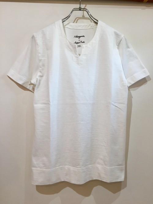 Nasngwam×August Roots 『BRUKINA TEE=ブルキナT』#WHITE