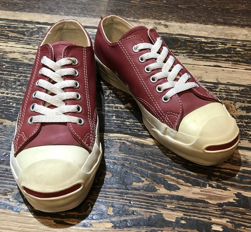 Vintage 90's~ Converse Jack Purcell Leather MADE IN USA