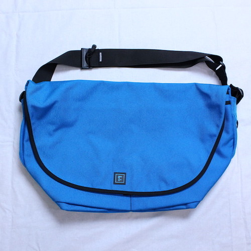 "【MORE SALE】Rickshaw Bagworks(リックショー バッグワークス) ""メッセンジャーバッグ SIZE L"" TURQUOISE(ターコイズ)"